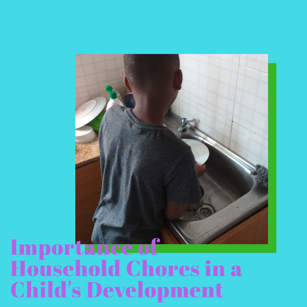 Importance of household chores in a child's development
